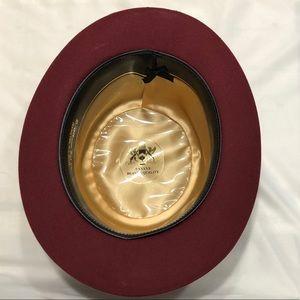 W. Albaum Hat Co. Accessories - Vintage Derby Burgundy Hat 7.5
